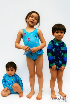 Boo! Designs Baby Swimmers, Ultimate Suit, and Swimmers