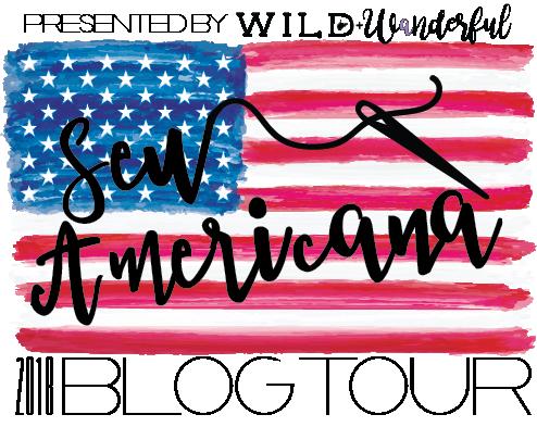2018 Sew Americana Logo