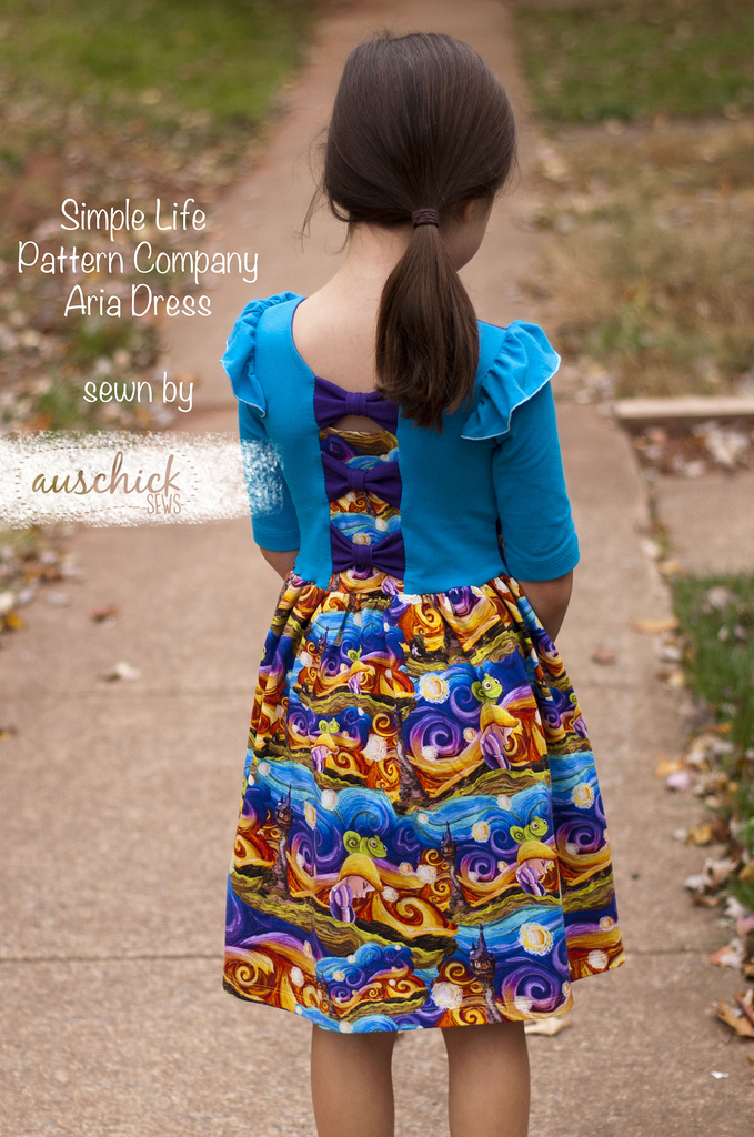 Simple Life Pattern Company Aria Dress sewn by Auschick