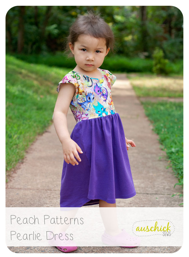 Peach Patterns Pearlie Dress